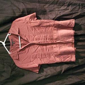 Banana Republic silk button up shirt